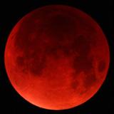 super Lune bleue de sang